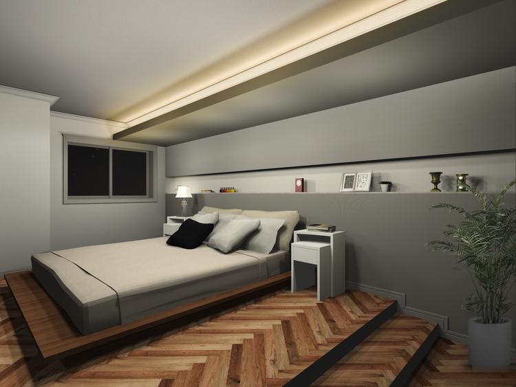 寝室のbefore画像