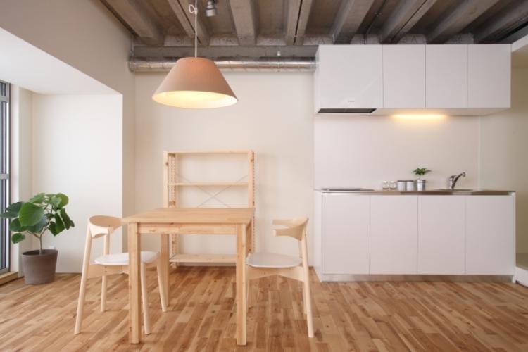 キッチンリノベーション(I型キッチン)