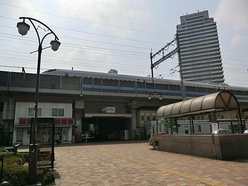 駅(2400m)