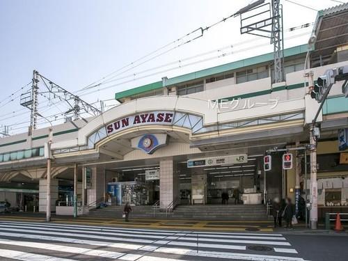 駅(720m)