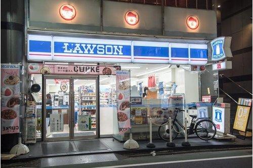 """ローソン自由が丘二丁目店まで49m。マチの健康ステーション。 """"みんなと暮らすマチ""""を幸せに。"""