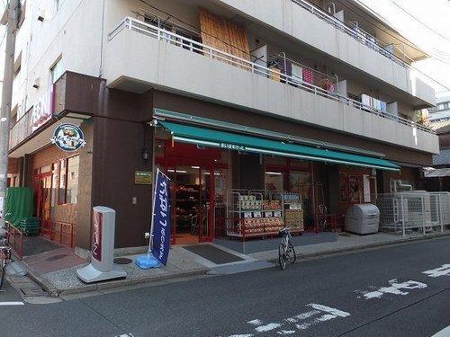 まいばすけっと富岡八幡店まで402m。「近い、安い、きれい、そしてフレンドリィ」 都市型小型食品スーパーマーケット。