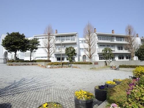 中学校(1900m)