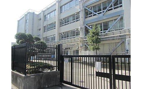 江東区立辰巳中学校まで800m。昭和52年2年1日に東京都江東区立辰巳中学校開設として開設されました。