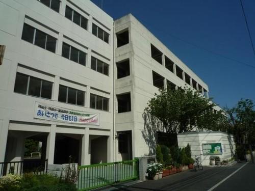 中学校(550m)