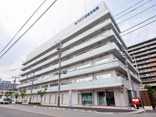 病院(390m)