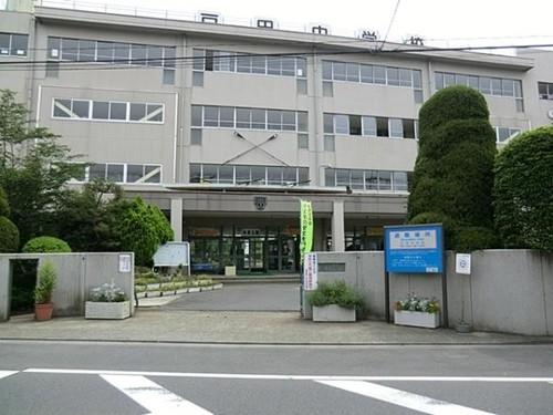 中学校(1160m)