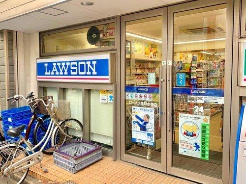 ローソン亀戸水神店まで10m。マンション隣にローソンがございますので、便利です。