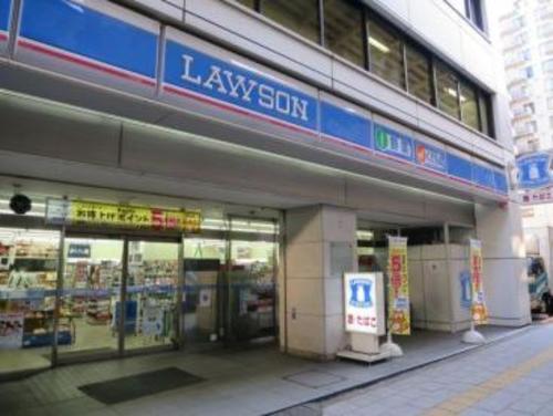 """ローソン渋谷初台一丁目店まで230m。マチの健康ステーション。 """"みんなと暮らすマチ""""を幸せに。"""