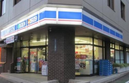 """ローソン新宿一丁目店まで83m。マチの健康ステーション。 """"みんなと暮らすマチ""""を幸せに。"""