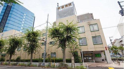 木場病院まで1100m。木場病院は、江東地区の急性期病院として、最新の診断設備と入院施設を備えております。