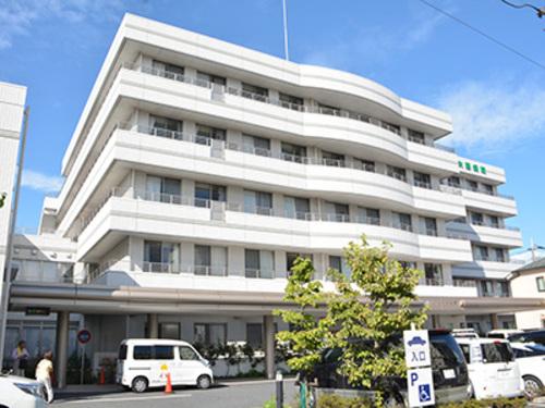 城南福祉医療協会大田病院まで780m。【理念】誰でも安心してかかれる病院を目指します。