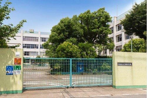 大田区立六郷中学校まで477m。知的で感性豊かな生徒を育てる。健康明朗で、頑張る生徒を育てる。