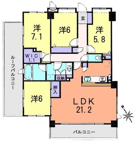 シュロス川口弐番館の画像