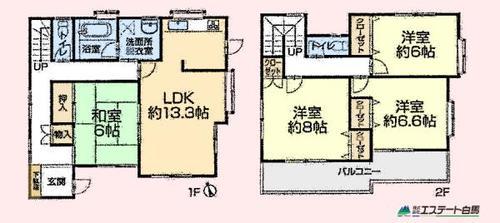 新座市池田3丁目全1棟 再生住宅の画像