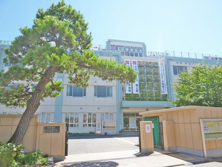 川崎市立西中原中学校 距離520m