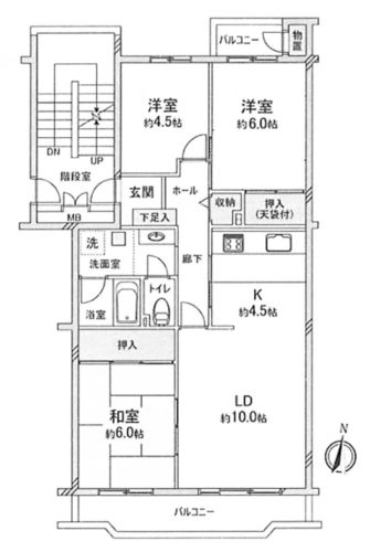 西国分寺史跡通り住宅5号棟の画像