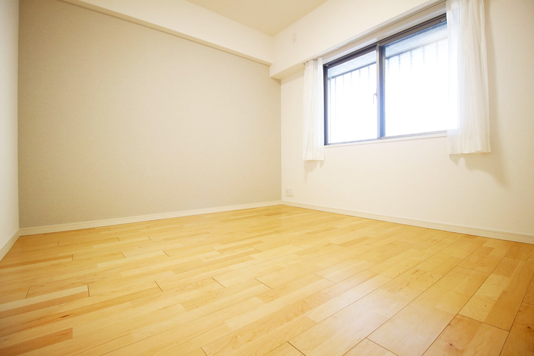 6帖ほどの居室は、使い勝手が良く好みのデザインにできます