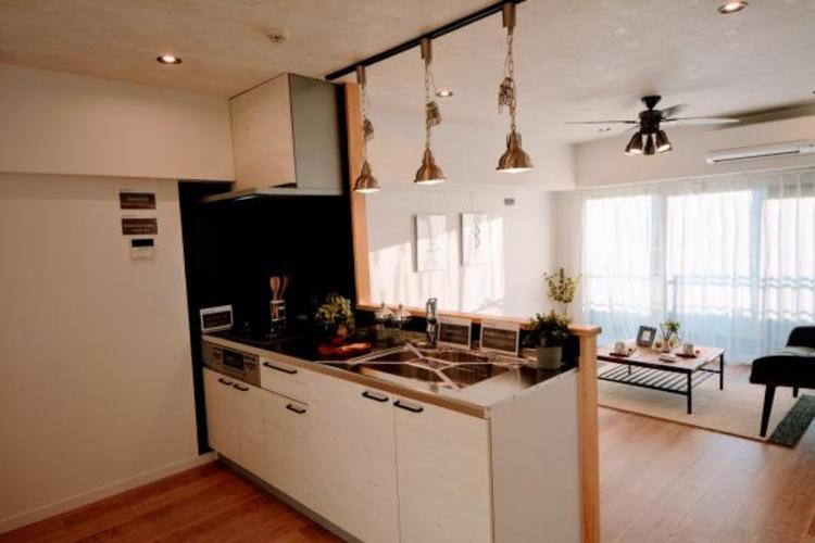 〇キッチン〇  対面キッチンがご家族の温かい時間を演出
