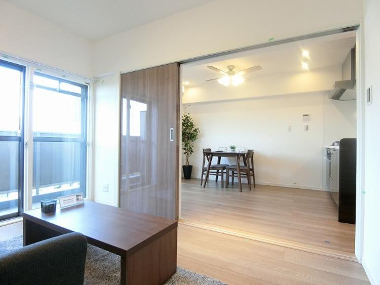 家具をおいてもゆとりあるスペースが確保できます。
