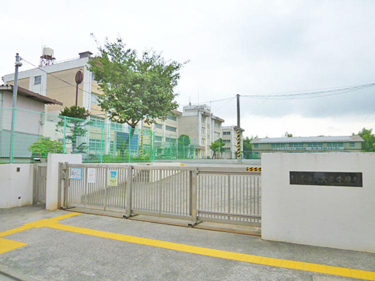 川崎市立犬蔵中学校 距離1100m