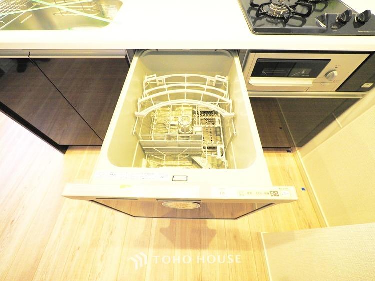 ビルトイン式食洗機を標準完備