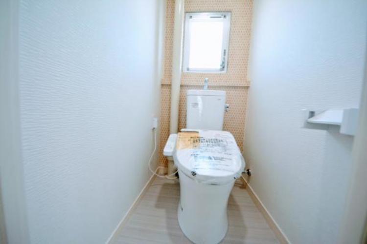 ■トイレ■  窓のある明るいトイレ