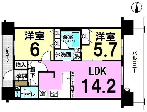 プレサンスロジェKUMATAの物件画像