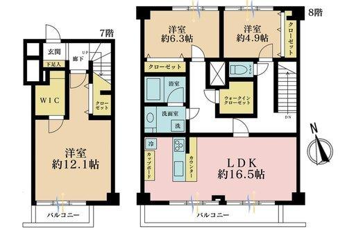 経堂セントラルマンションの物件画像