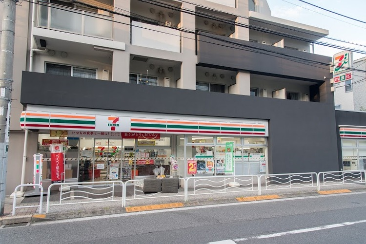 セブンイレブン江東冬木店まで206m。アメリカ合衆国発祥のコンビニエンスストアである日本の会社。日本においてはコンビニエンスストア最大手であり、チェーンストアとしても世界最大の店舗数を展開している。