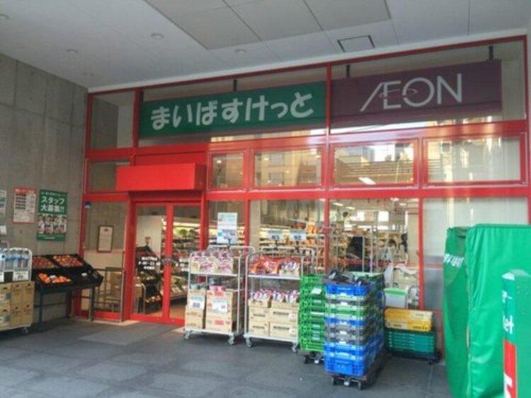 まいばすけっと富岡八幡店まで158m。イオングループのまいばすけっと株式会社が関東地方で、またイオン北海道株式会社が北海道にて展開している都市型小型食品スーパーマーケットである。