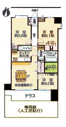 ライオンズマンション京王堀之内第5の物件画像