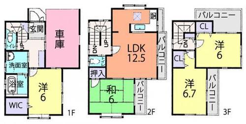 ふじみ野市上福岡3丁目 中古住宅の物件画像