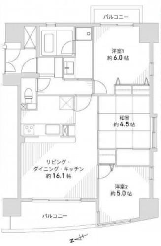 セレッソコート北梅田の物件画像