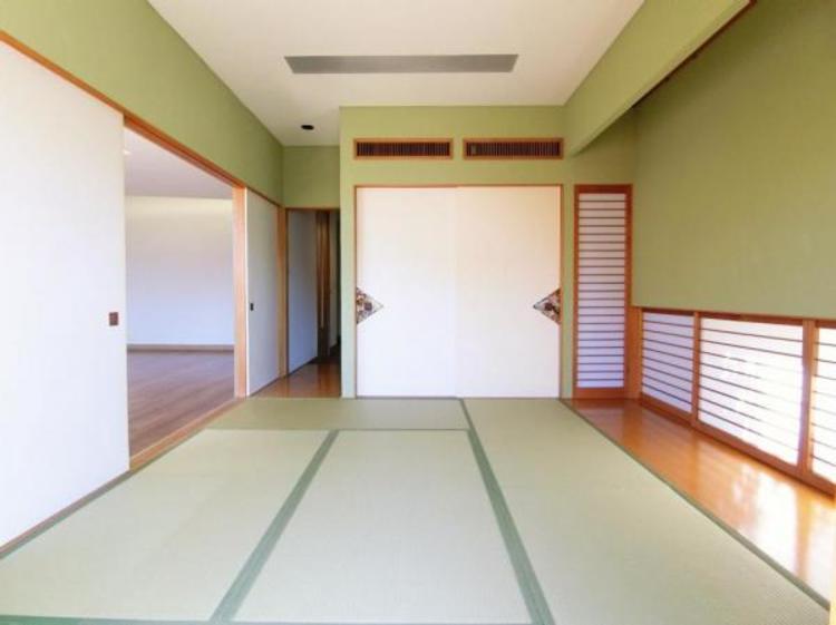 1階には和室もございますので、お子様のお昼寝や来客用の客間としてもご活用頂けます♪