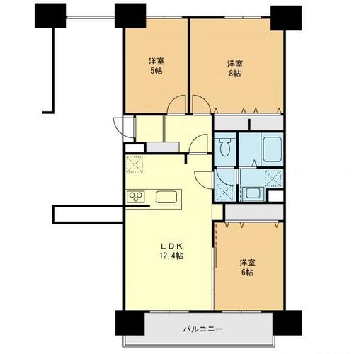 若葉台団地2−5棟の物件画像
