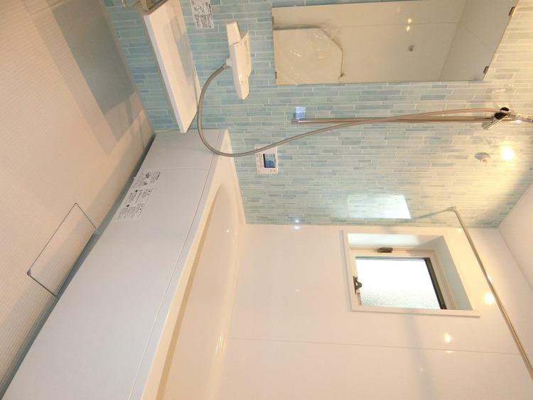 洗い場もゆったりした浴室でお子様とワイワイ楽しめそうですね。