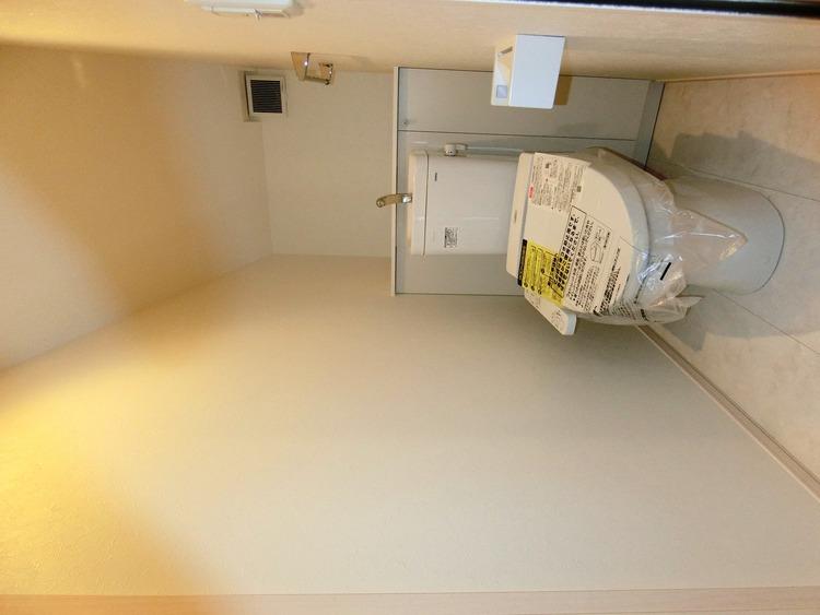 各階にトイレがあるので、朝の忙しい時間帯もご家族がスムーズに準備できますね。