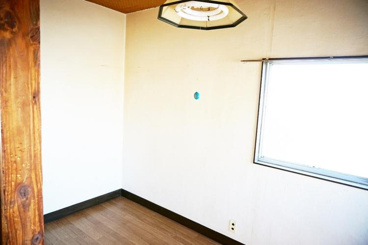 明るい内装はお部屋を広く感じさせてくれますね。