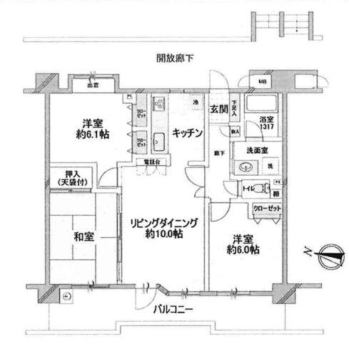 東京都八王子市大和田町三丁目の物件の物件画像