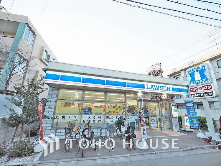 ローソン 世田谷桜新町二丁目店 距離500m