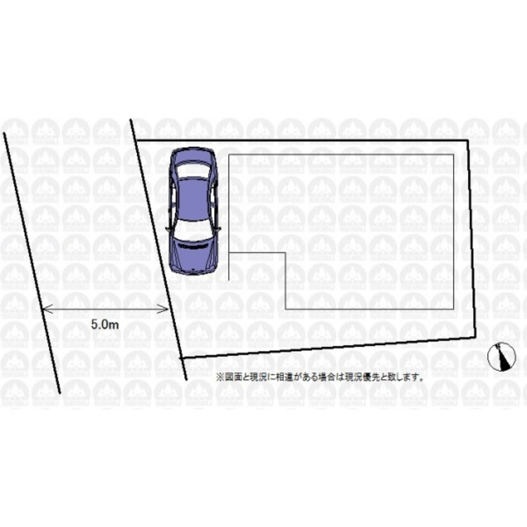駐車スペースは1台分ご用意しております。