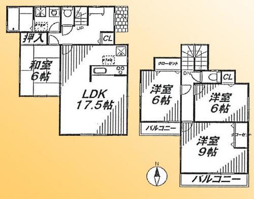 所沢市大字久米 中古戸建の物件画像