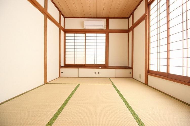 6帖の和室はしっとりと落ち着いた雰囲気