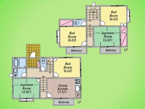 川崎市 麻生区千代ケ丘4丁目 戸建て B号棟の物件画像