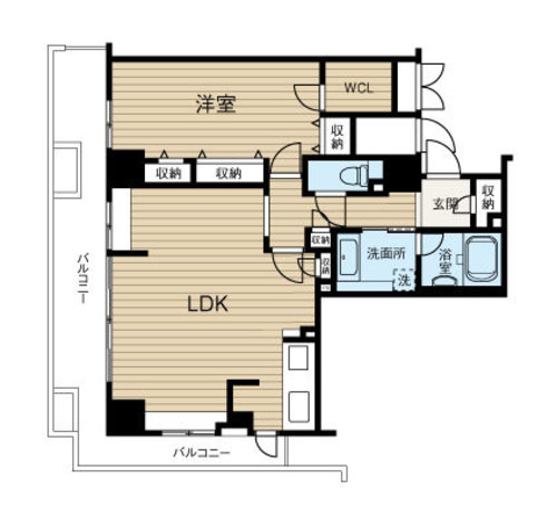 ジーニス大阪WEST棟の物件画像