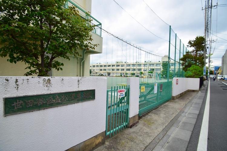 世田谷区立松沢中学校 距離1100m