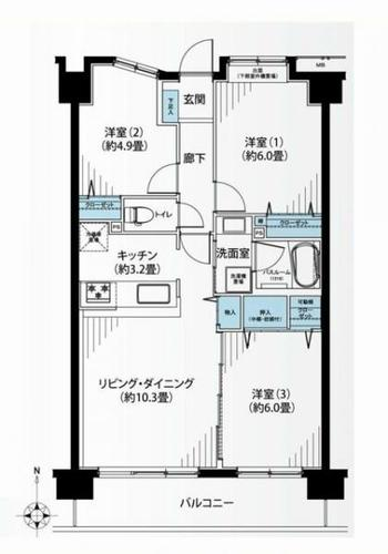 ダイアパレス横浜矢向の物件画像