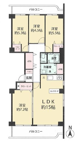 ニューライフマンション武蔵野台 D号棟の物件画像