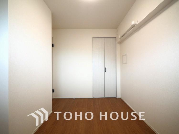4.1帖ほどの居室は、使い勝手が良く好みのデザインにできます